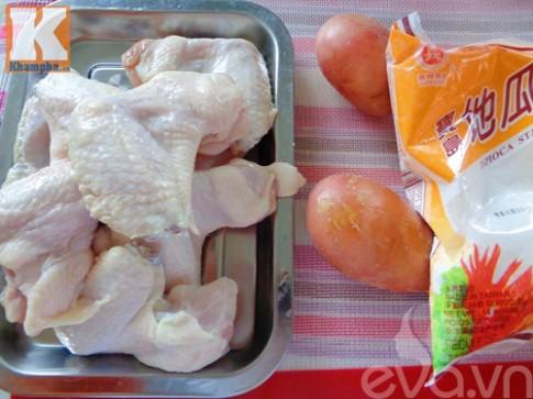Cánh gà nhồi khoai tây lạ miệng mà ngon