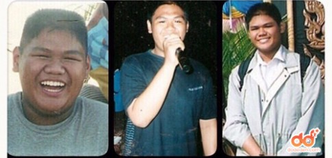 Chàng béo Thái Lan trở thành hot boy nhờ giảm nửa tạ