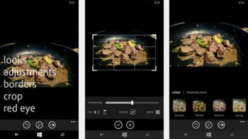 Chỉnh sửa ảnh nhanh và miễn phí trên Windows Phone