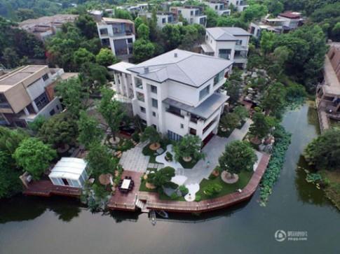 Choáng với vườn nhà trị giá 265 tỉ đồng của đại gia Trung Quốc