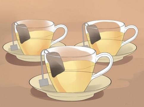Da sáng, mịn sau một đêm nhờ trà xanh