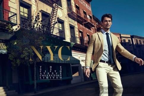 David Gandy for Massimo Dutti NYC