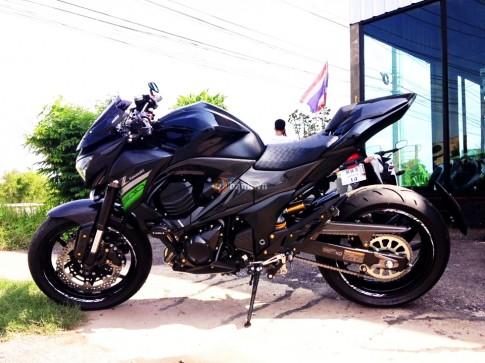 Đầy ấn tượng với chiếc Kawasaki Z800 2016 độ trên đất Thái