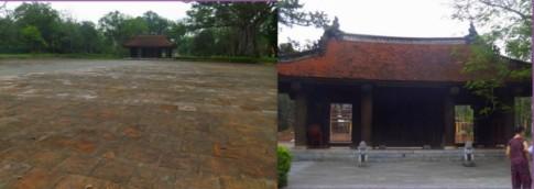 Độc đáo nghệ thuật kiến trúc kinh thành cổ Lam Kinh ở Thanh Hóa