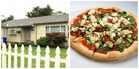 Đôi vợ chồng bán nhà để ăn pizza miễn phí suốt đời