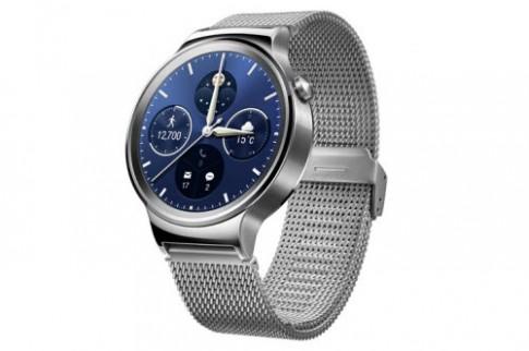 Đồng hồ thông minh Huawei Watch trình làng: Sang trọng, lịch lãm