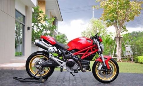 Ducati Monster 795 trong bản độ full option đầy phong cách