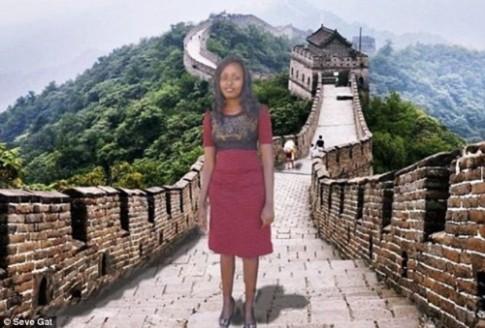 Được đi du lịch miễn phí Trung Quốc do bị chế ảnh quá nhiều