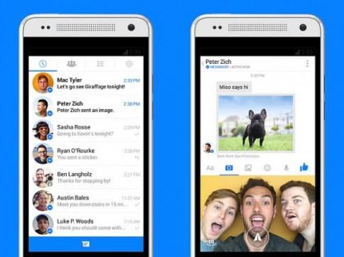 Facebook Messenger cho phép quay phim, chia sẻ video