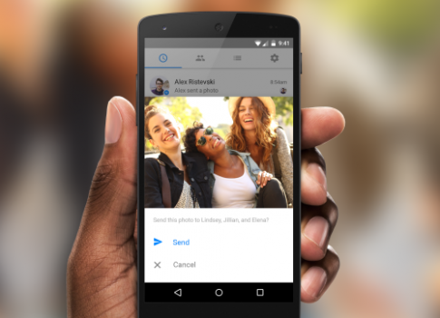 Facebook nhận diện bạn bè bằng ảnh lưu trong smartphone