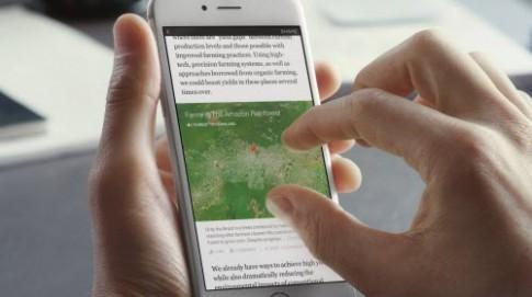 Facebook sắp tung ứng dụng đọc báo Notify