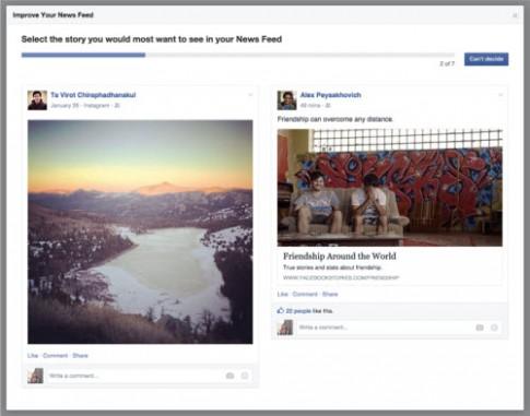 Facebook thay đổi thuật toán, chặn thông tin rác