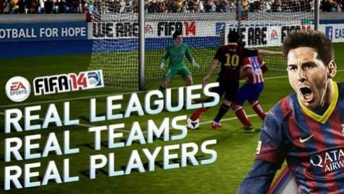 FIFA 14 miễn phí cho Android và iOS