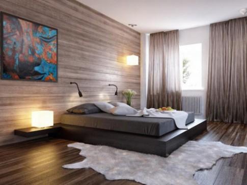 Giường dạng phản giúp làm rộng phòng ngủ nhỏ