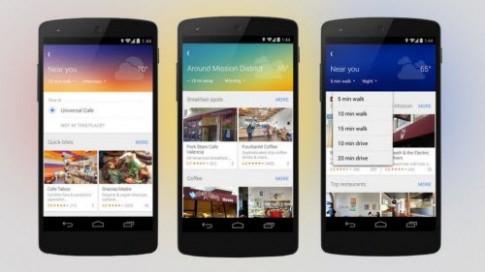 Google Maps cho Android và iOS có thêm tính năng thú vị