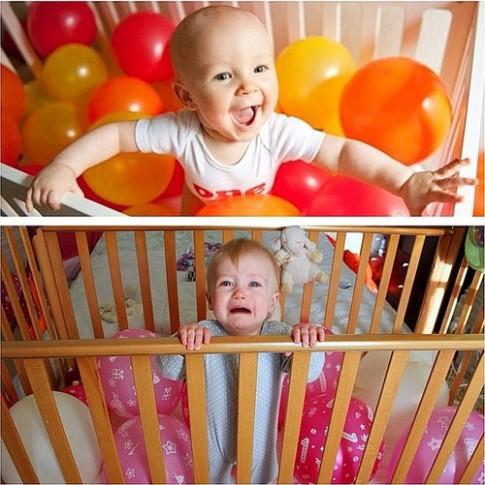 Hài hước: Khi 'con nhà người ta' và con nhà mình chụp ảnh