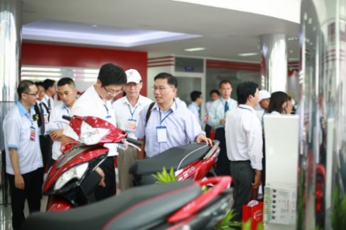 Hãng Kymco quyết tâm phát triển mạnh tại Việt Nam