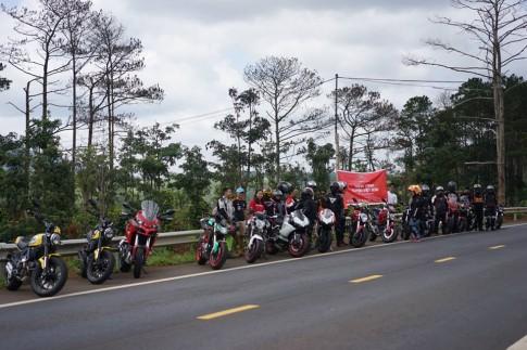 Hành trình xuyên Việt đến dự Audi Progressive của anh em chơi xe Ducati