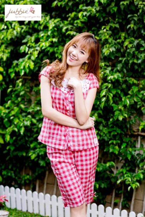 Hari Won xinh tươi trong trang phục mặc nhà Jubbie.