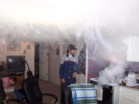 Hở hộp kỹ thuật có thể gây ngạt khói, bốc mùi ở chung cư