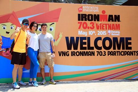 Hoàng My chinh phục Ironman vì nụ cười trẻ thơ