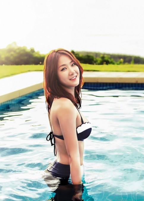 Học 4 mỹ nữ Hàn cách tập luyện để mặc bikini cực đẹp