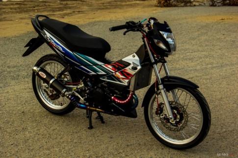 Honda Sonic 125 độ full dàn đồ chơi hàng hiệu cực chất