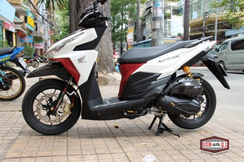 Honda Vario 2016 op Carbon Fiber cung dan option hang hieu