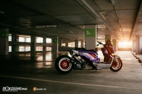Honda Zoomer-X do doc dao voi phien ban Purple Glass