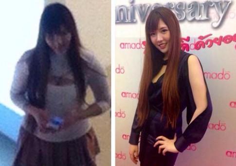 Hot girl Thái Lan được thưởng 400 triệu nhờ giảm béo
