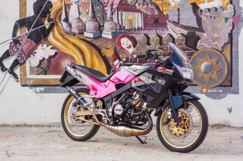 Kawasaki Kips đầy phong cách với dàn option hàng hiệu từ biker Thái