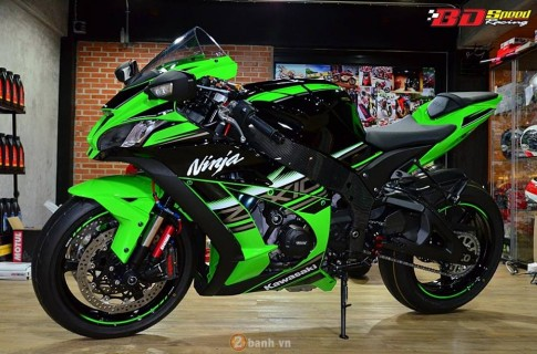 Kawasaki Ninja ZX-10R 2016 trong bản độ cực chất từ BD Speed Racing
