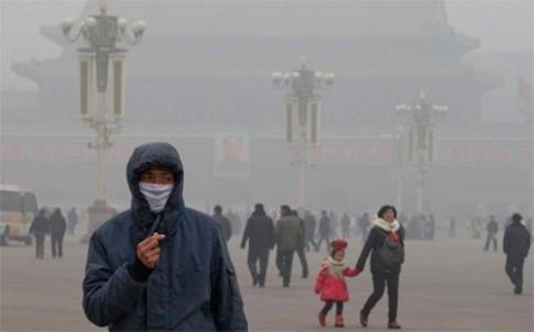 Khóc cười vì ô nhiễm