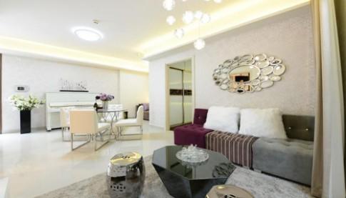 Không gian thông thoáng cho căn hộ hiện đại