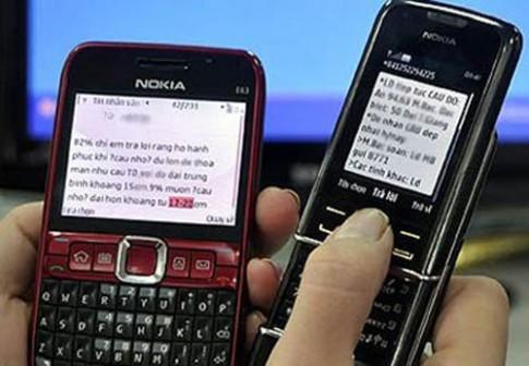 Không thể kiên nhẫn thêm với tin nhắn rác