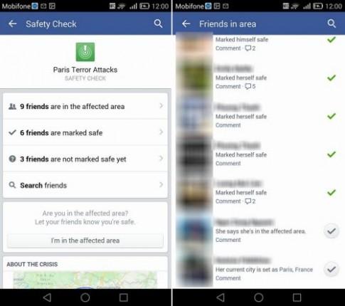 Khủng bố ở Paris: Nhiều người Việt xác nhận an toàn trên Facebook