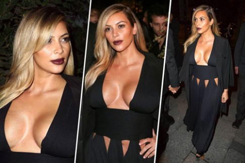 Kim Kardashian bị tố độn mông, hút mỡ, nâng ngực