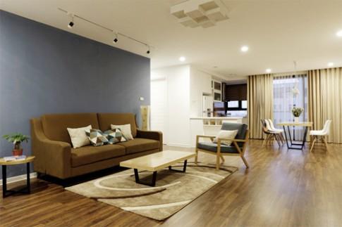 Làm sàn gỗ hay sàn gạch cho nhà ba tầng?