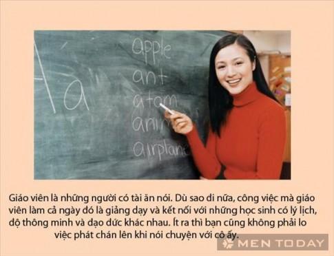Lí do tuyệt vời để yêu một nữ giáo viên