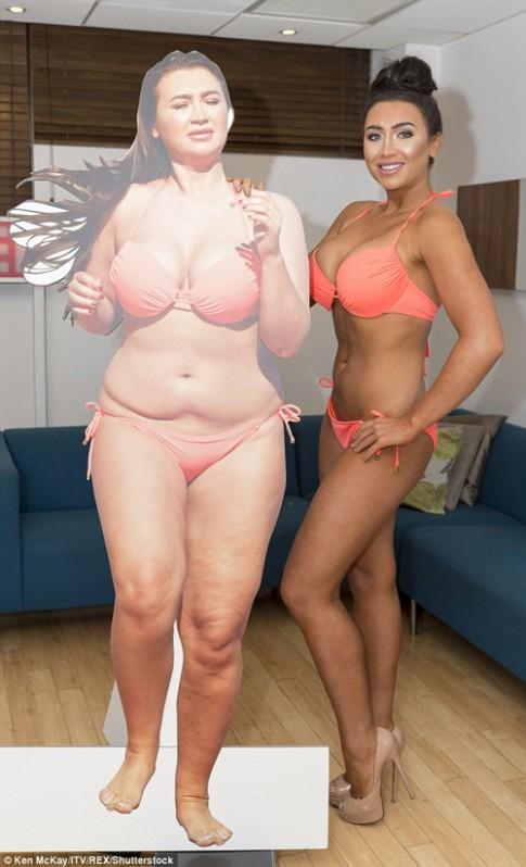 """Màn """"lột xác"""" ngoạn mục nhờ giảm cân của cô đào Mỹ"""
