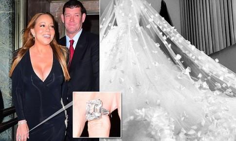 Mariah Carey quyết tâm giảm cân để diện vừa váy cô dâu