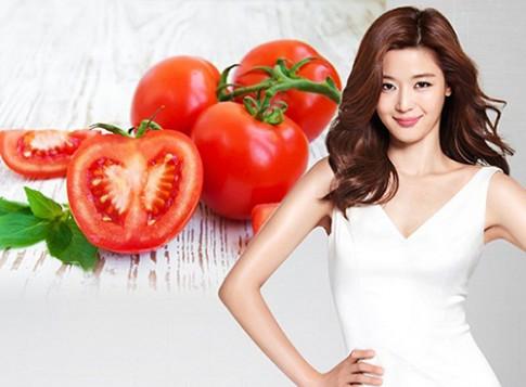 Mặt nạ cà chua tẩy trắng làn da xỉn màu xấu xí