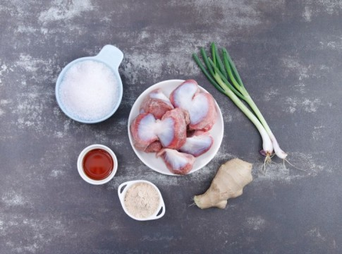 Mề gà nướng muối đơn giản, lạ miệng mà hấp dẫn