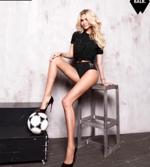Ngây ngất với fan bóng đá sexy, xinh đẹp nhất thế giới