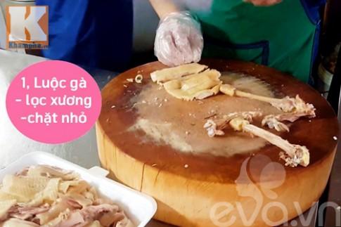 Ngỡ ngàng với cách lọc thịt 1 con gà trong 2 phút