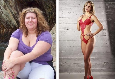 Người mẫu bikini nặng 1 tạ gợi cảm sau khi giảm 50 cân