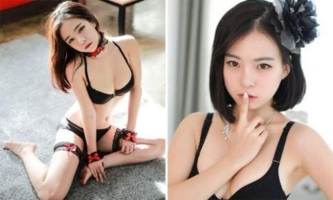 """Người mẫu Hàn """"gây sốt"""" nhờ vóc dáng sexy cực chuẩn"""