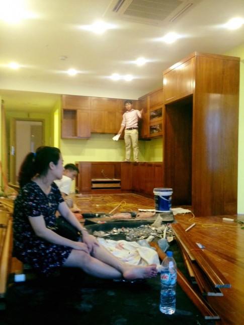 Nhà mới sắp hoàn thiện của Tự Long đón con chào đời