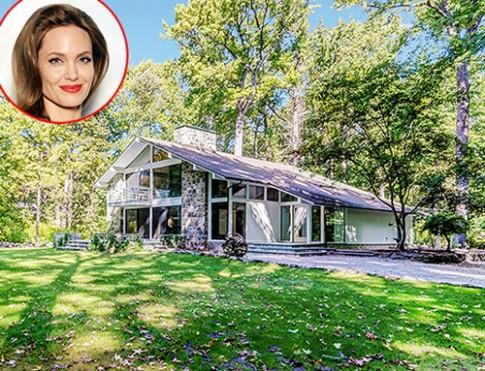 Nhà thời thơ ấu giữa rừng cây của Angelina Jolie
