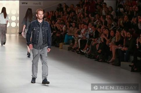 Nhìn lại hình ảnh Paul Walker sải bước trên sàn catwalk